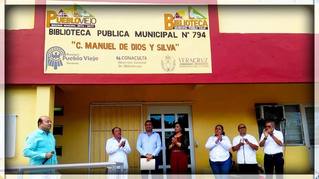 ENTREGA MANUEL CUAN DELGADO LA  AMPLIACIÓN Y REMODELACIÓN DE LA BIBLIOTECA MUNICIPAL C. MANUEL DE DIOS Y SILVA