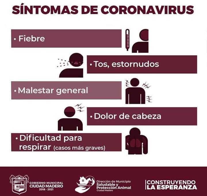 5 sintomasc coronaviru