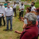 ADRIÁN OSEGUERA RESPONDE A LAS NECESIDADES DE LAS FAMILIAS MADERENSES