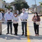 FAMILIAS MADERENSES ATESTIGUAN EL AVANCE EN INFRAESTRUCTURA VIAL